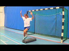 Handball Goalkeeper Training - Step Board Drills