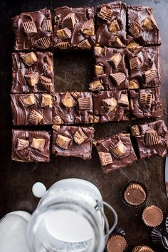 The Very Best Peanut Butter Cup Fudge Brownies | halfbakedharvest.com @hbharvest