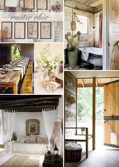 rustic, yes.