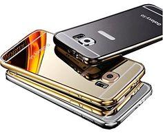 Amazon.com: Samsung Galaxy Note 5 Mirror Case, Blue-sea88(TM) Luxury Anti-scratch Ultra thin Mirror Metal Aluminum Frame Case for Samsung Galaxy Note 5 (Rose gold): Cell Phones & Accessories