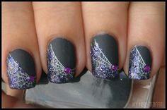 DIY halloween nails: DIY Halloween nail art : Halloween Nail Art Spam!