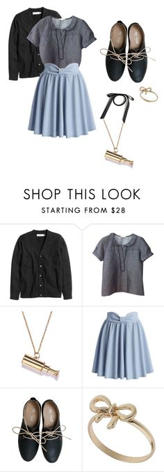 """Violet Baudelaire 1.0 {A Series of Unfortunate Events}"" by sarah-natalie on Polyvore featuring Sandro, Chicwish, Miz Mooz, Topshop, aseriesofunfortunateevents and violetbaudelaire"