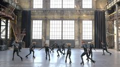 'Run' By MICHAEL BYRNE-Choreographer and Creative Director. Choreography & Skate Concept Reel. on Vimeo