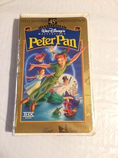 Walt Disney`s Peter Pan (VHS) Fully Restored 45TH Anniversary Limited Edition