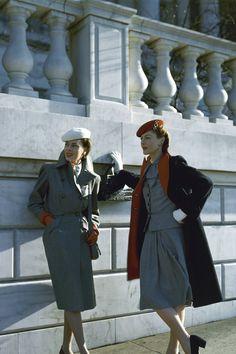 Working Girls de los años 40. Vogue, 1943.
