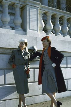Working Girls de los años 40. Vogue, 1943.