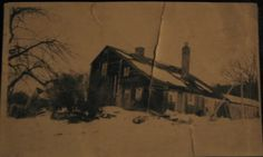 Early photograph of Walker Homestead~