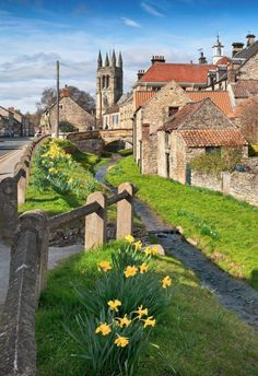 Springtime in Helmsley, North Yorkshire, England, UK