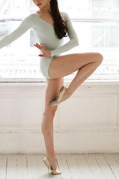 These are the best exercises for sculpting your legs. These fitness tips come straight from a ballerina..