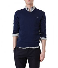 Lexington Clothing Company Fall Collection 2016, Men. Nicholas V-Neck Sweater.