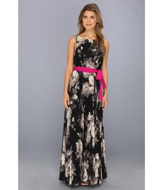 Bohem-beauty abounds in this sleeveless Eliza J™ maxi dress.. Breezy, pleated fabrication moves wi...