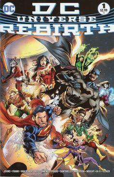 DC Universe Rebirth #1 // Variant Cover