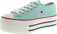 AmazonSmile: Maxstar Low-top Platform Canvas Sneakers Shoes: Clothing