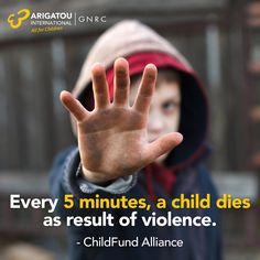 Do your part to end violence against children
