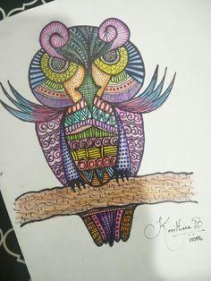 #owl #angryowl #doodleart