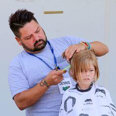 Shaving & cutting the hair!