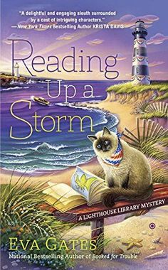 Reading Up a Storm: A Lighthouse Library Mystery by Eva Gates http://www.amazon.com/dp/0451470958/ref=cm_sw_r_pi_dp_P5NYvb11M4RNH