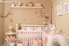 quarto de bebe tema corujas