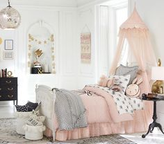 28 Kids Bedroom Interior Design Trends for 2019 , With regards to the children, obviously you as a parent need to give it all the best. For instance, by improving the children room inside with the pre. Pottery Barn Kids, Girls Bedroom, Bedroom Decor, Bedrooms, Bedroom 2018, Childrens Bedroom, Emily And Meritt, Little Girl Rooms, Baby Furniture