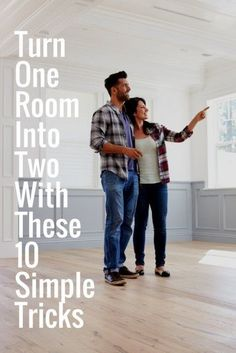 Turn One Room Into Two With These 10 Simple Tricks   Easy DIY Hacks   Simple Interior Designs Ideas    Home Improvement on a Budget   Good Ideas For Small Spaces   Room Dividers