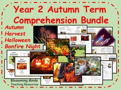 This is a pack of 13 year 2 SATs style comprehensions, perfect for using throughout the autumn term. Each booklet comes in 3 differentiated levels. Bonfire Night Guy Fawkes, Key Stage 1, Sats, English Activities, Autumn Art, Year 2, Comprehension, Nonfiction, Booklet