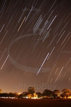 Picture of star trail at bhilai india