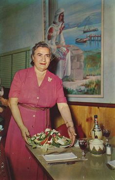 Mama Pappas at Louis Pappas Restaurant- Tarpon Springs, Florida by The Pie Shops Collection, via Flickr