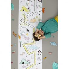 Olli Ella Playpa Jungle is a revolutionary new concept in creative play. You can colour it, sticker it, play on it, decorate walls with it. Kids Storage, Storage Baskets, Playroom Decor, Nursery Decor, Belly Basket, Creative Play, Kid Spaces, Painting For Kids, Little Ones