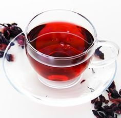 Drinking delicious hibiscus tea every day could help keep blood pressure under control without the side effects of medications.  √