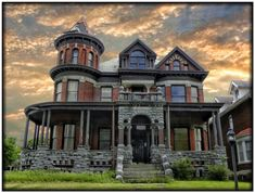 1513 Genesee Street ~ Utica NY ~ Abandoned ~ Architecture Romanesque 1890 ca