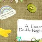 Monster Double Negatives #4 | Double negative, Worksheets and ...