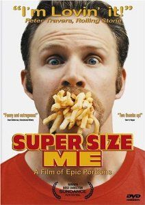 While examining the influence of the fast food industry, Morgan Spurlock personally explores the consequences on his health of a diet of solely McDonald's food for one month.