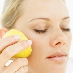 Applying citrus to clean skin can tighten pores, remove dead skin cells and even act as a toner when used at the end of a skincare routine!