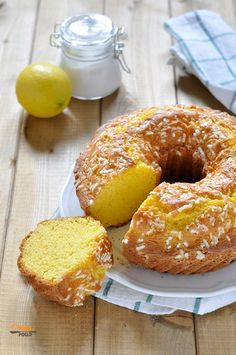 Ciambella semplice per la colazione – Rezepte Italian Cake, Italian Desserts, Italian Recipes, Bakery Recipes, Cooking Recipes, Lemon Drop Cookies, Plum Cake, Homemade Cake Recipes, Biscotti