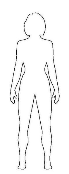 Human Body Template