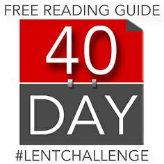 40 Day #Lent Challenge. Read the New Testament in 40 Days.