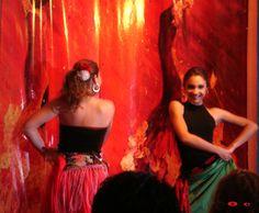 Flamenco. Espectáculo en un restaurant En La Paz B: C. S.   O c
