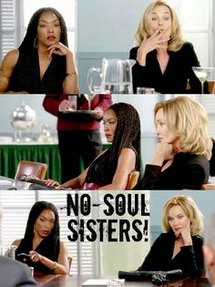 AHS Coven, Jessica Lange as Fiona Goode and Angela Bassett as Marie Laveau