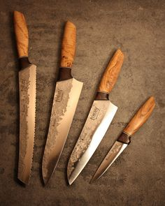 Hand forged Kitchen Knife Set