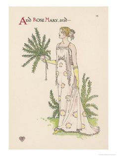 Rosemary    by Walter Crane Item #: 1863933