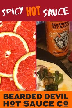 Bearded Devil Hot Sauce Co. Grapefruit Habanero, 5 oz (Pack of 2 bottles)- Small batch & local, and Vegan, Ingredients: Distilled Vinegar, Grapefruits, Habaneros, Habanero Powder, Salt, Garlic, Arbol Peppers, Onion Powder, Xanthan Gum. Vegan, Keto Friendly, Gluten Free, No Preservatives. Each small batch of our hot sauces are loving crafted and bottled right in Western PA. #spicypepperssauce #hotpepperssauce #glutenfreesauce #ketofriendlyspicysauce #spicyvegetable #spicysaltpeppersauce Vegan Soup, Vegan Keto, Vegan Vegetarian, Vegetarian Recipes, Gluten Free Sauces, Vegan Sauces, Spicy Recipes, Gourmet Recipes, Healthy Recipes