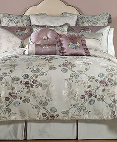 Waterford Bedding, Ciara Collection - Bedding Collections - Bed & Bath - Macy's // not usually my style but I think it's gorgeous