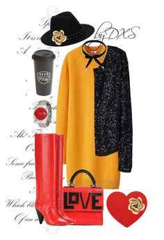 """""""Love in Fall"""" by danielxs on Polyvore featuring Uniqlo, Les Petits Joueurs, Isabel Marant, Chicnova Fashion, Karl Lagerfeld, Oscar de la Renta and The Created Co."""