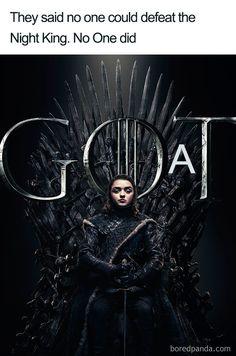 Arya Stark sits on the Iron Throne in the poster for Game of Thrones Season 8 Arte Game Of Thrones, Game Of Thrones Facts, Game Of Thrones Quotes, Game Of Thrones Funny, Game Of Thrones Arya, Game Of Thrones Characters, Cersei Lannister, Daenerys Targaryen, Khaleesi