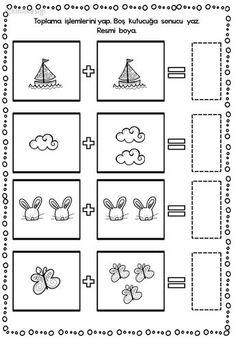 Top 40 Examples for Handmade Paper Events - Everything About Kindergarten Kindergarten Math Worksheets, Preschool Printables, Preschool Learning, Preschool Activities, Teaching Kids, Kindergarten Morning Work, Montessori Math, Grande Section, Math For Kids