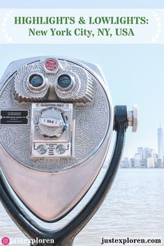 Going to the Empire State, New York City? Then here a few must sees in the iconic city!