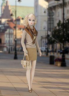 Barbie ropa y accesorios: Faldas de imitación de ante y de piel