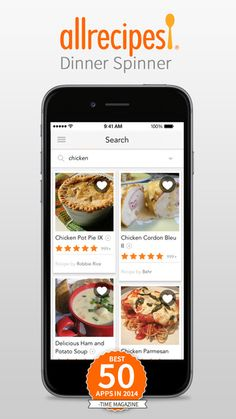 Allrecipes Dinner Spinner via YourNerdyBestFriend.com. Free and bargain apps and technology to change the way you work and live!