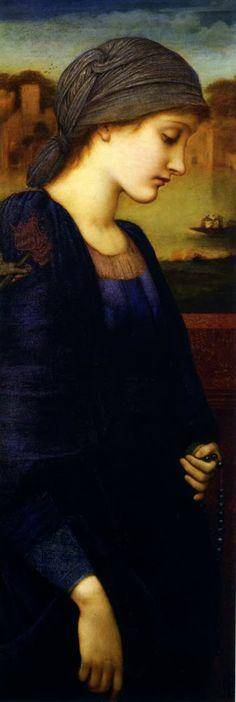 'Dearest Jesus...make my soul a beautiful, living  Tabernacle where You will ever dwell..'  (Edward Burne Jones painting)