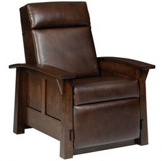 Real Leather Recliner! #leatherrecliner #cabinfield